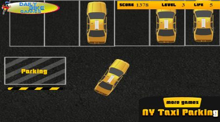 Screenshot - NY Taxi Parking