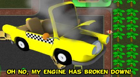 Screenshot - Sim Taxi Bubble City