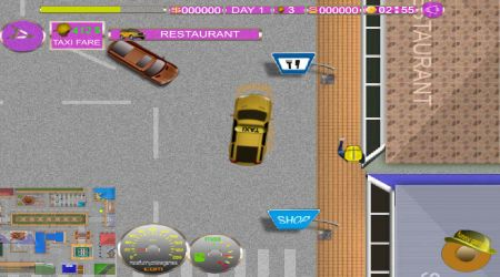 Screenshot - Taxi Driver Challenge 2