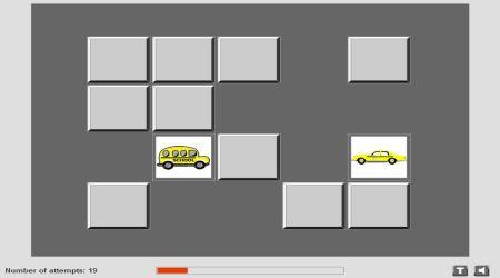 Screenshot - Taxi Memory Game